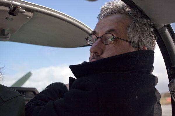 Jeff en avion