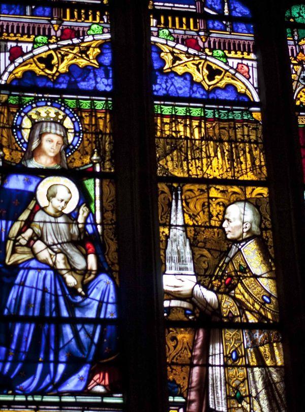 Vitraux 2 Cathédrale Saint-Corentin Quimper