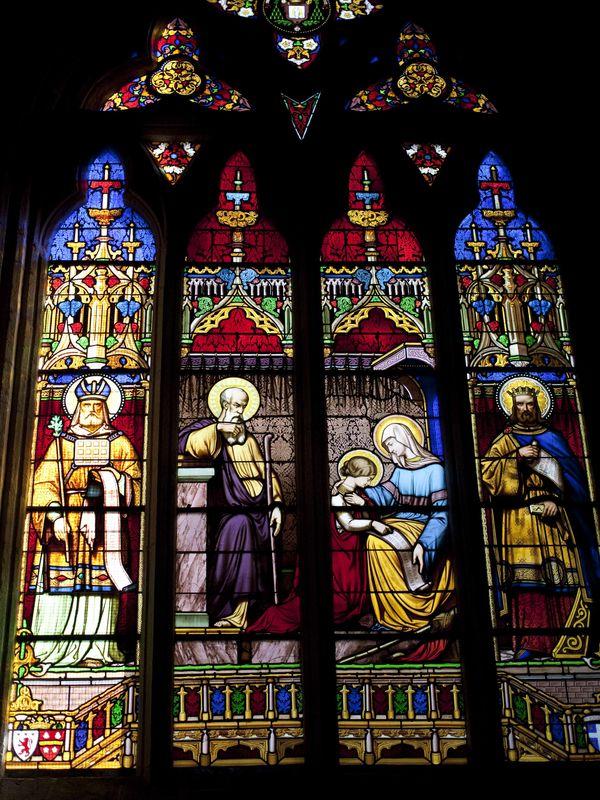 Vitraux 4 Cathédrale Saint-Corentin Quimper