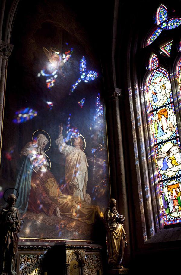 Vitraux Cathédrale Saint-Corentin Quimper