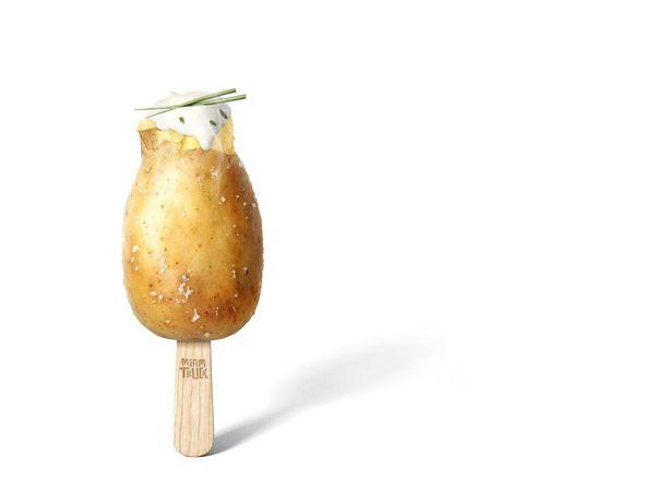 Pomme de terre publicité priméale