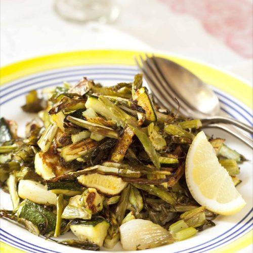 La recette ultra facile des légumes à l'italienne grillés au four sur plaque