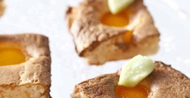 pain de gênes aux amandes et à l'abricot