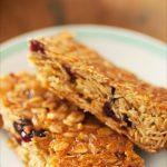 Recette de flapjacks aux cranberries ou barres de céréales à la cranberry