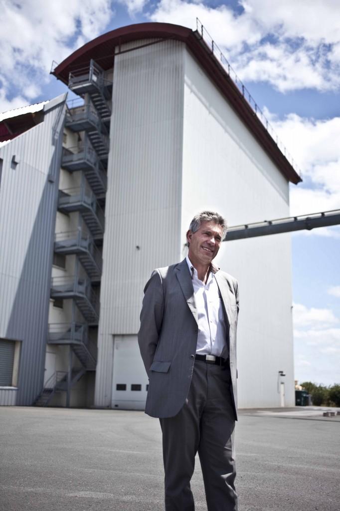 Thierry Mondolfo, Directeur Général de la Meunerie Evelia