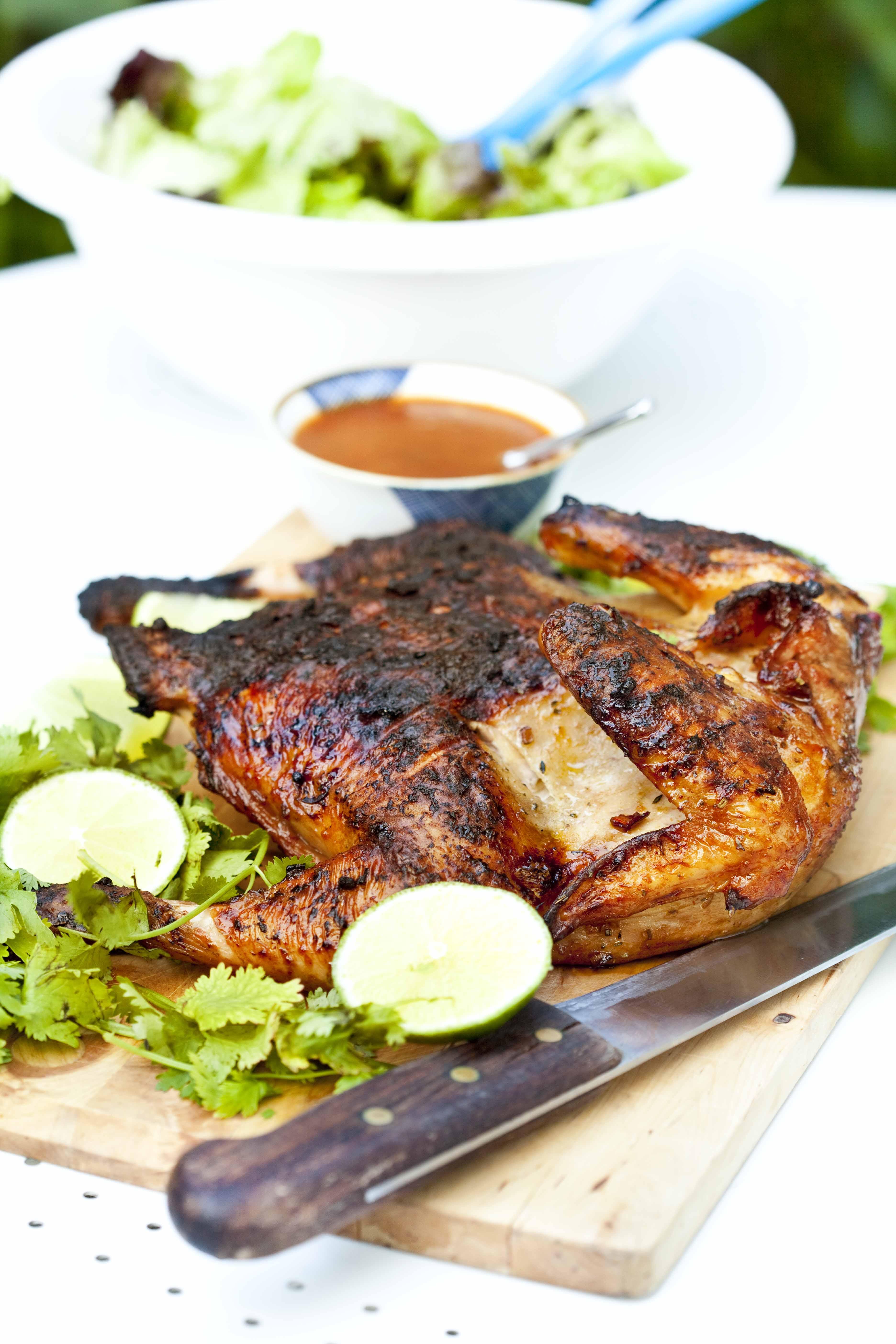 poulet la texane recette traditionnelle du poulet au barbecue. Black Bedroom Furniture Sets. Home Design Ideas