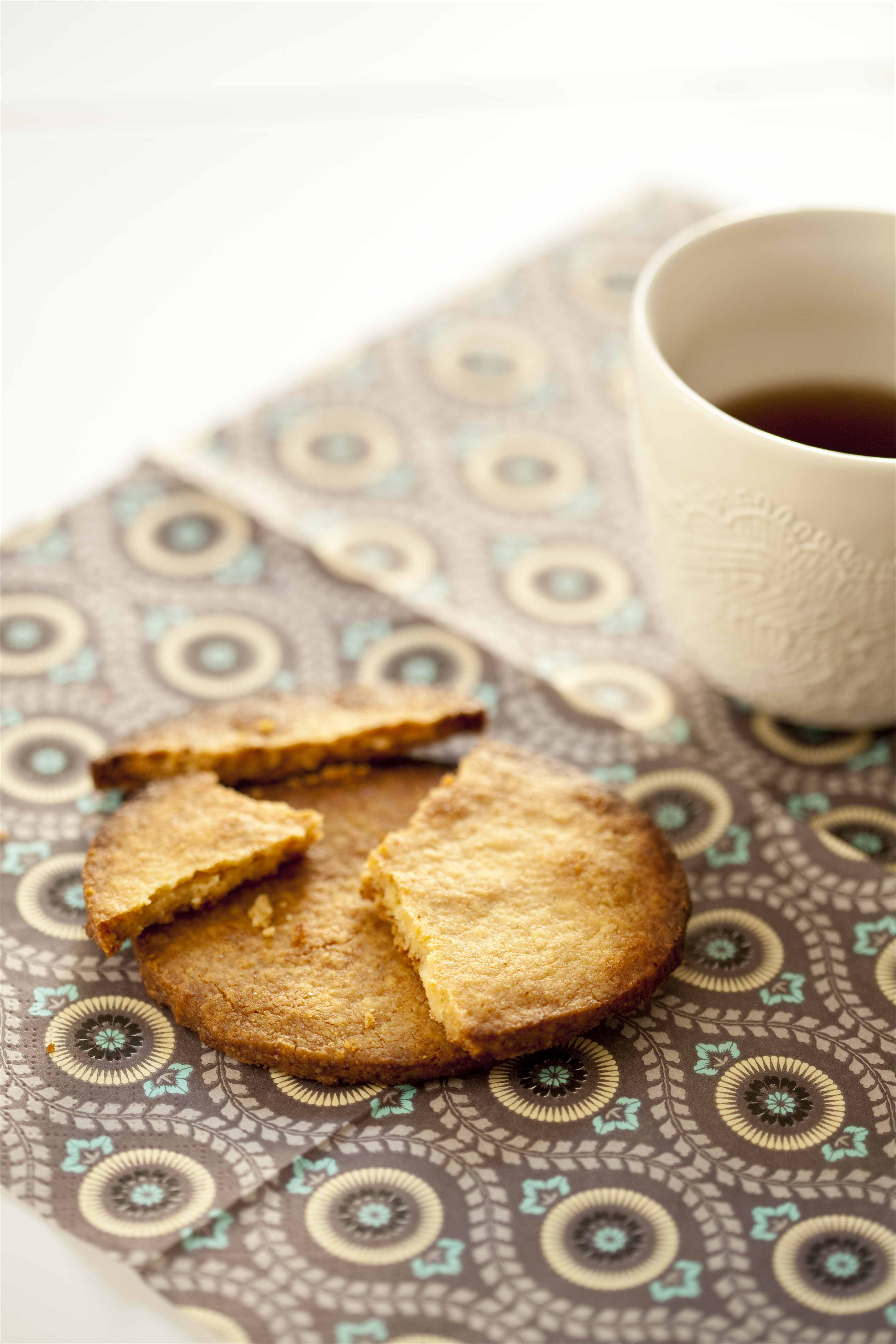 Sablés à l'anis vert pour croustiller à l'heure du thé ou au petit déjeuner