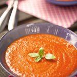 soupe glacée de tomates la recette