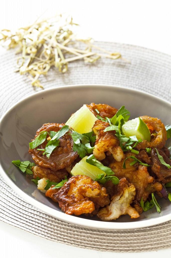 Beignets de crevettes et oignons rouges1 682x1024 Beignets de crevettes tous légers: les utilisations du Bicarbonate par Nicolas Palangié recettes faciles recettes de cuisine produits bon marche livres blogs b a ba de la cuisine