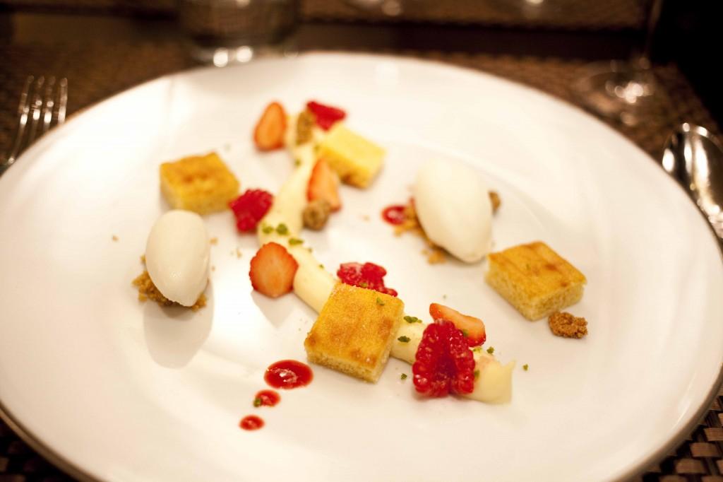Dolce Chantilly Dessert de Pierre Paris