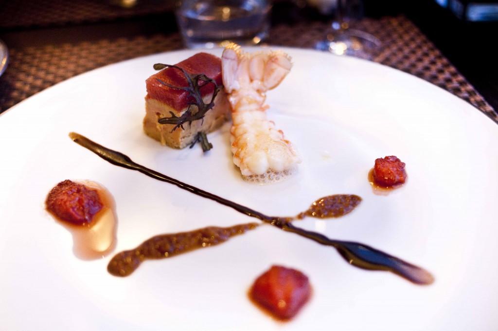 Dolce Chantilly Dorian Wicart Pressé de foie gras et langoustine