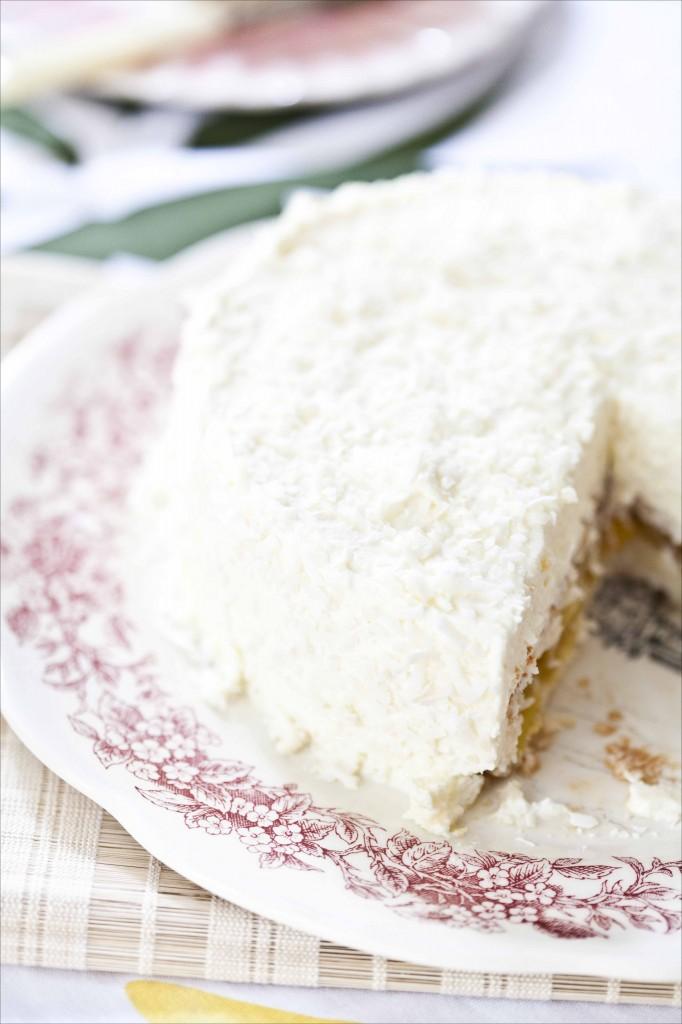 Gâteau mousse à la noix de coco 21