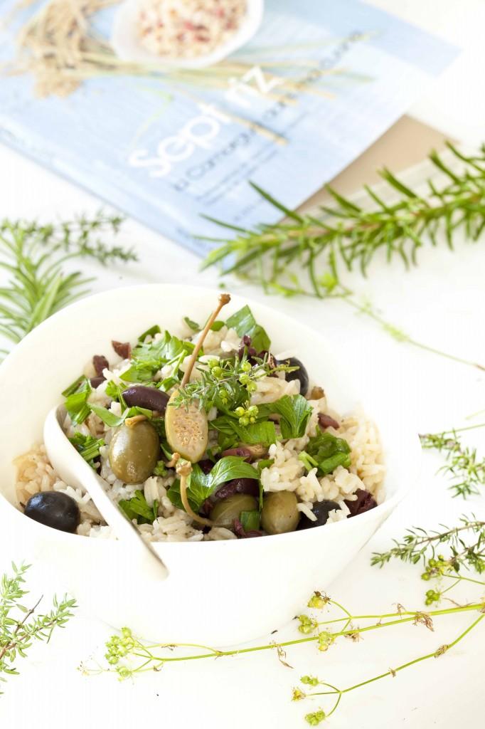 Riz aux olives et livre 7 riz de Camargues 1