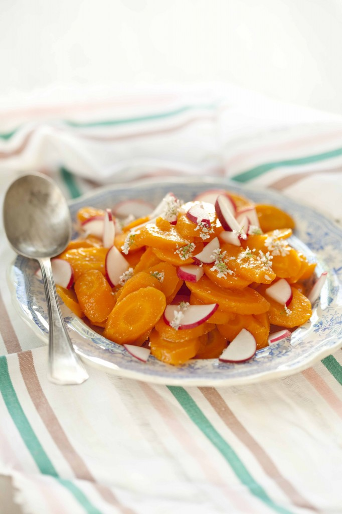 Salade carottes à la fleur de coriandre 21