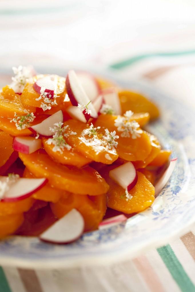 Salade carottes à la fleur de coriandre 31
