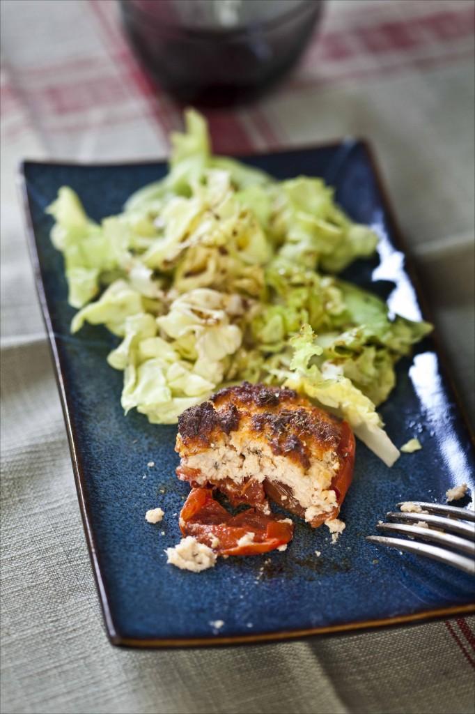 Tomates farcies au saumon et aux herbes 21
