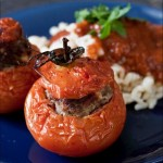 Tomates farcies à la viande recette facile de plat complet