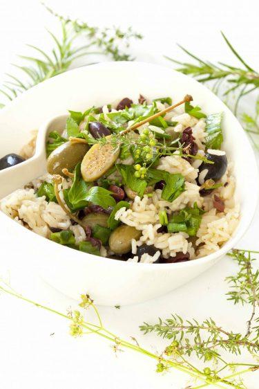recette de riz aux olives