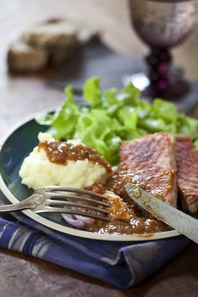 Jambon grillé à la sauce Savora 21