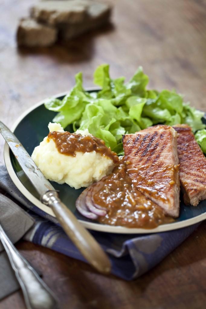 Jambon grillé à la sauce Savora 31