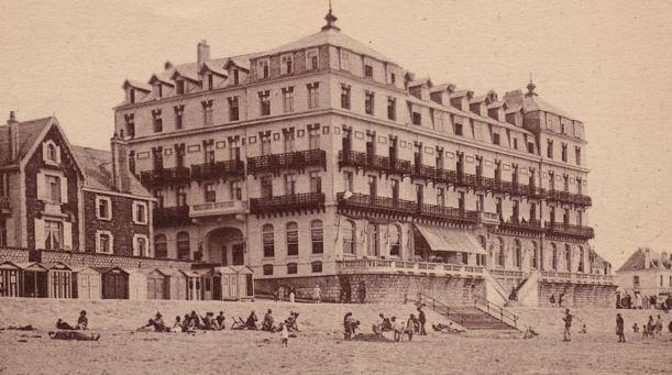 Le Grand Hôtel de Wimereux ancien