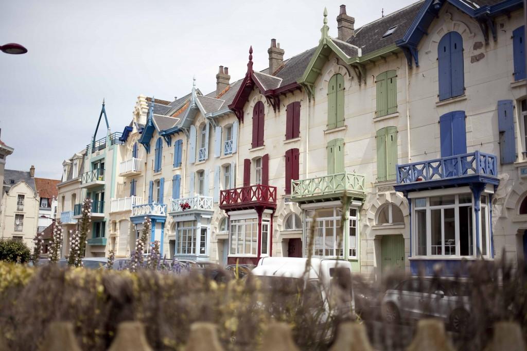 Maisons colorées à Wimereux 21