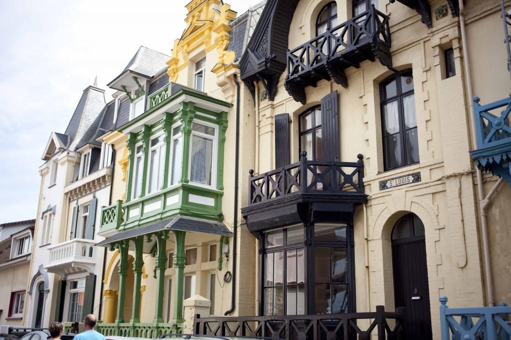 Maisons colorées à Wimereux 31