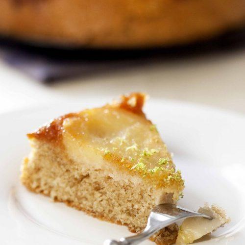 Ma recette de gâteau aux poires et aux noisettes