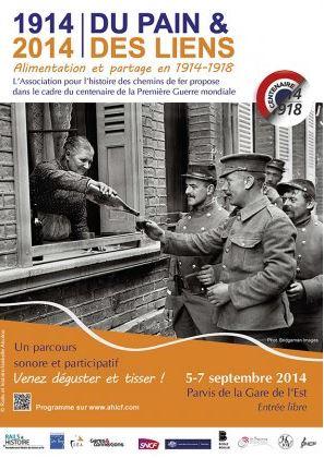 Affiche Du Pain et des Liens 1914-1918 Centenaire
