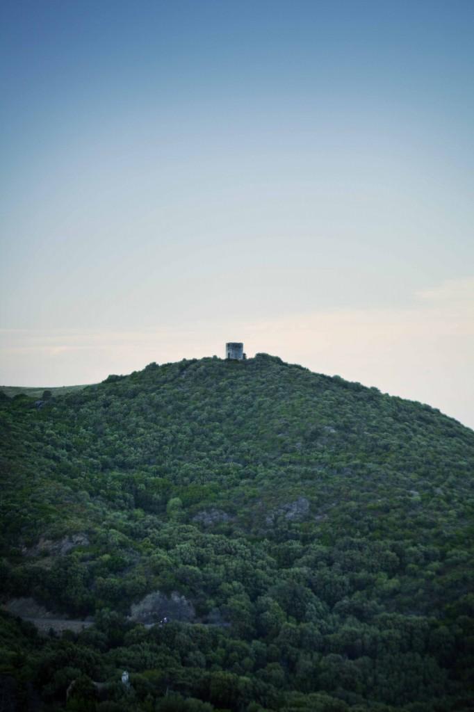 L'ancien moulin de Rogliano vu de notre terrasse1