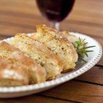 recette du pain à l'ail pour l'apéritif
