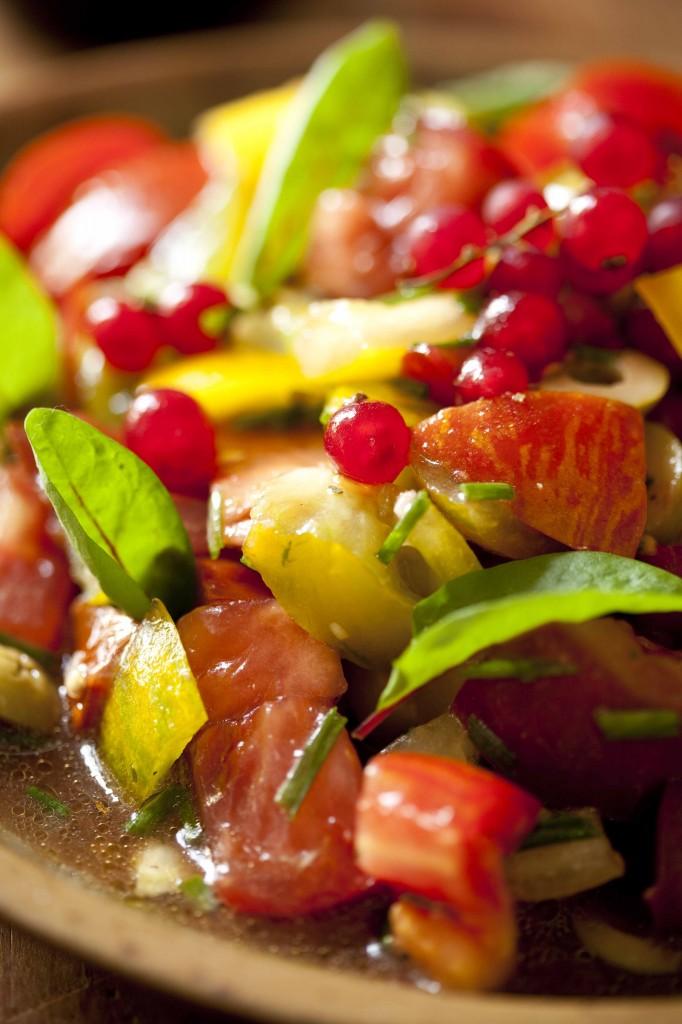 Salade multicolore 21
