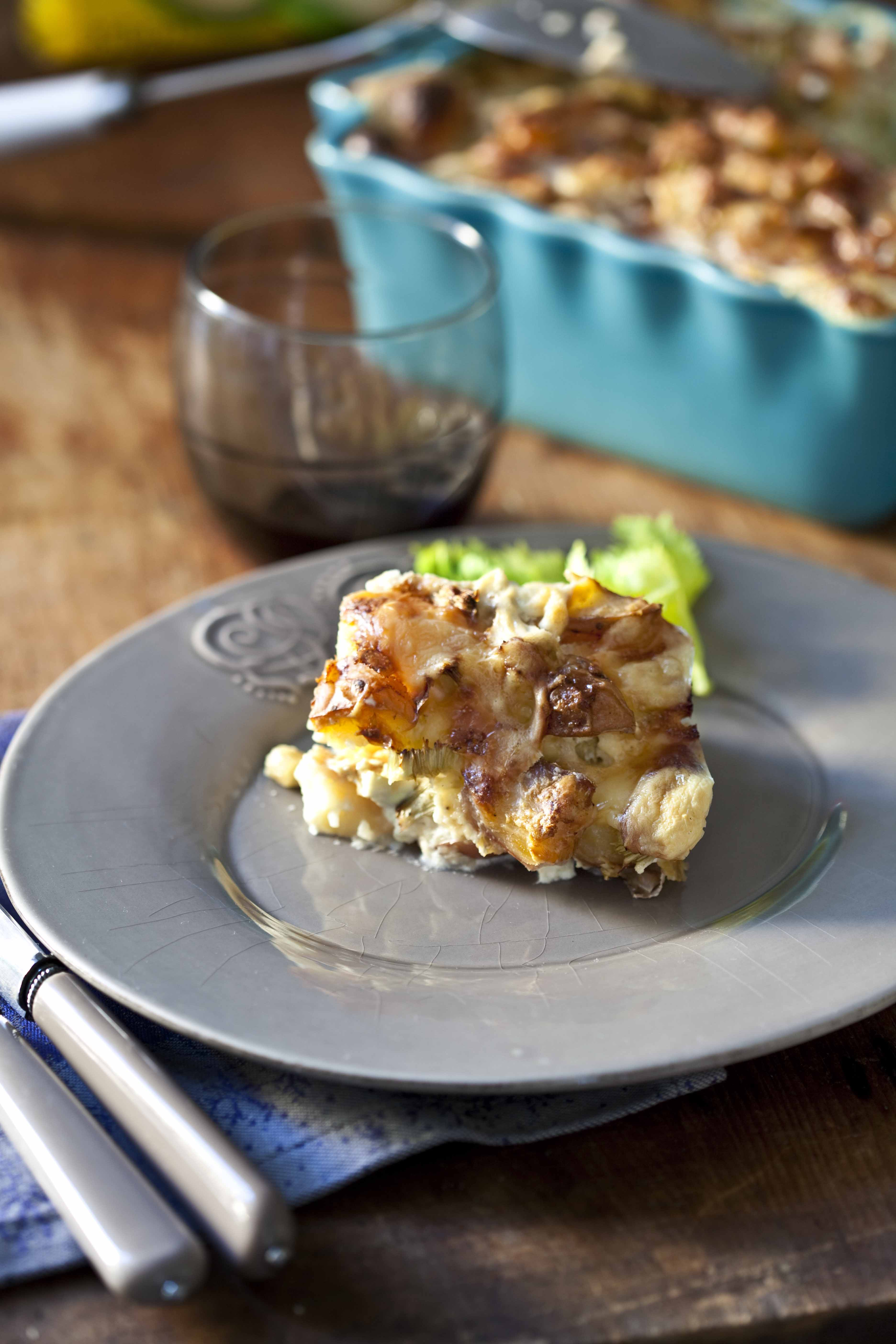 Gratin de pommes de terre au fromage leerdammer panier de saison - Pomme de terre pour gratin ...