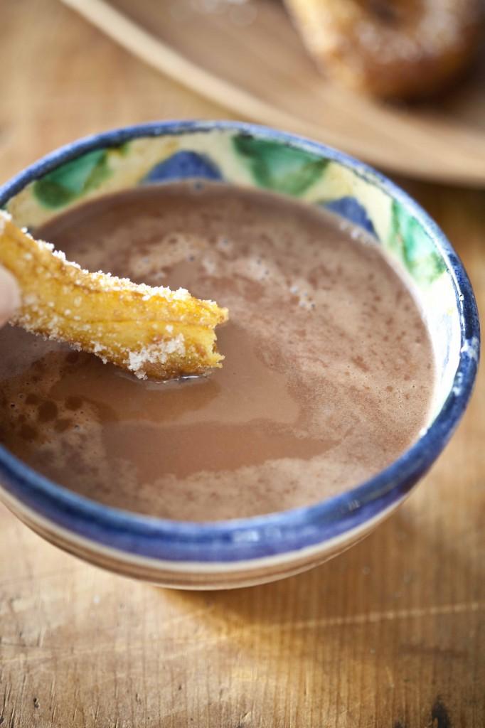 chocolat chaud et churros recette