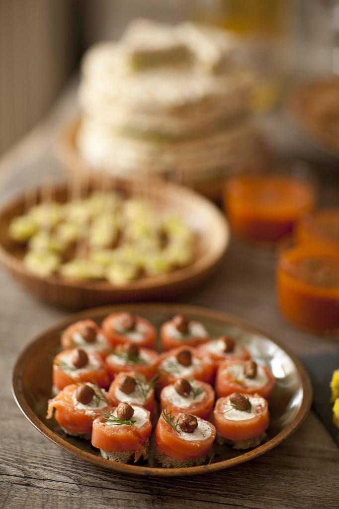 Buffet Au Secours Assiette de saumon au boursin 1