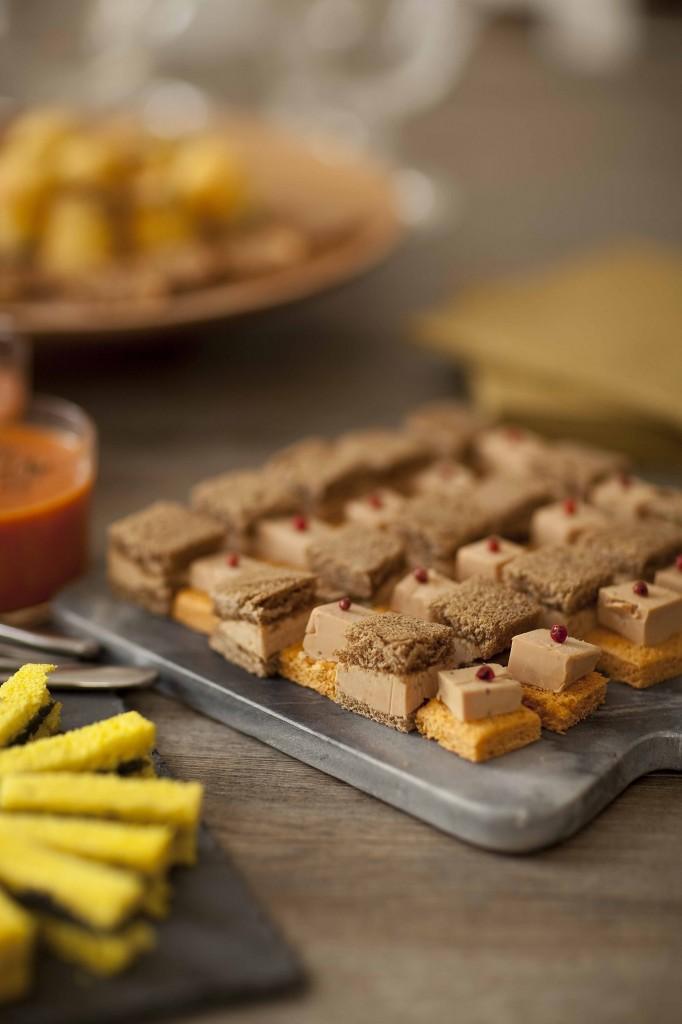 Buffet Au Secours Plateau foie gras 1