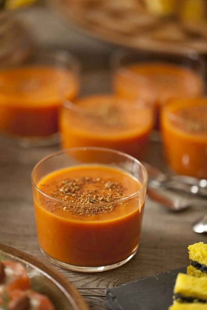 Buffet Au Secours Soupe de tomates aux herbes 1