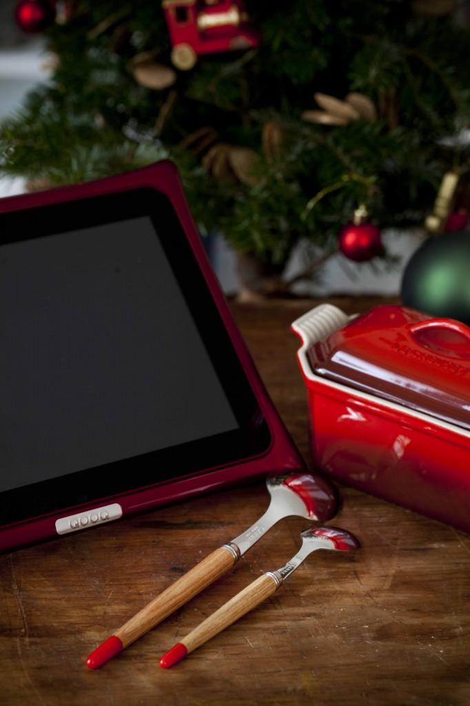 Cadeaux rouges Noël 2014 Couverts Sabre 1