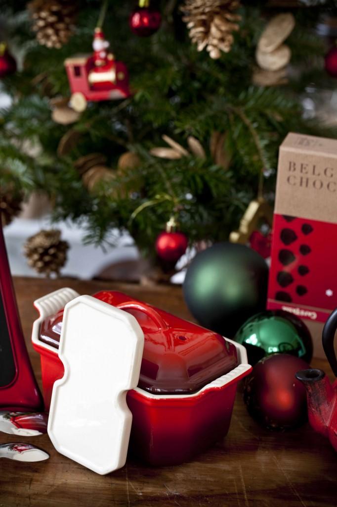 Cadeaux rouges Noël 2014 terrine à foie grasLe Creuset 1