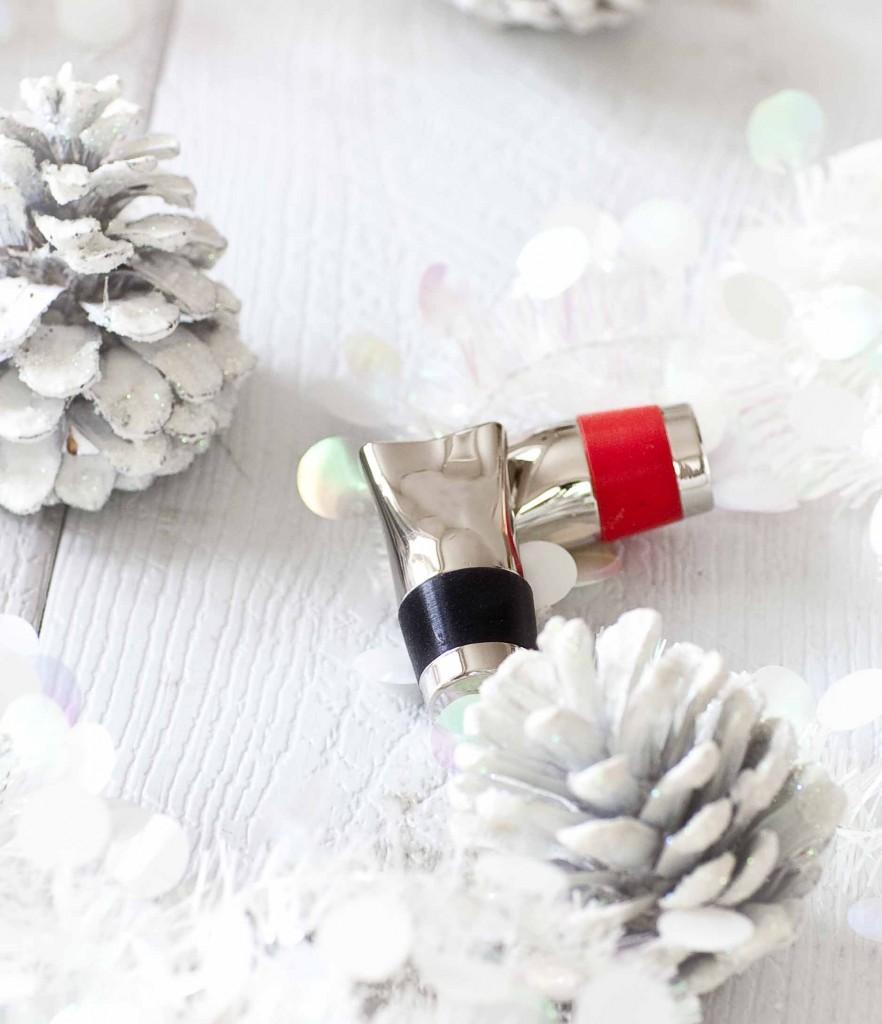 Noël argenté ou presque Bouchons à vin L'Atelier du Vin 11