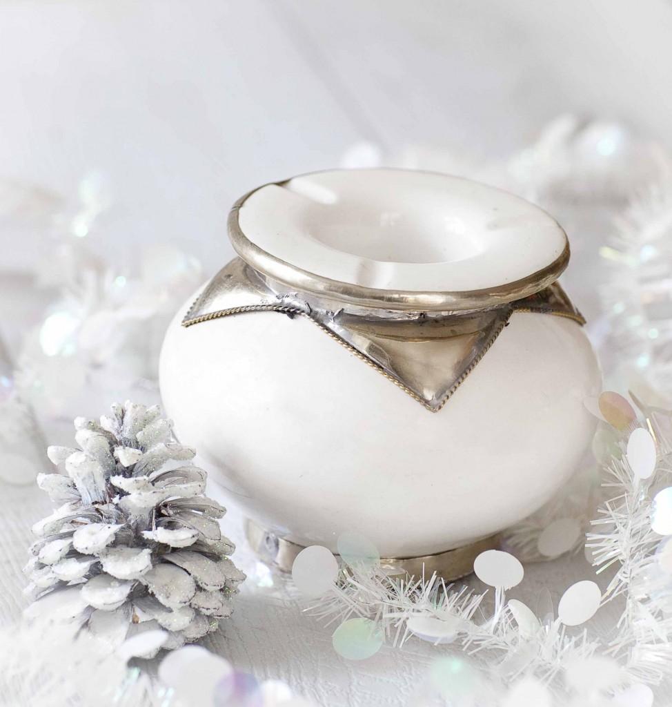 Noël argenté ou presque Cendrier Lhadara 11