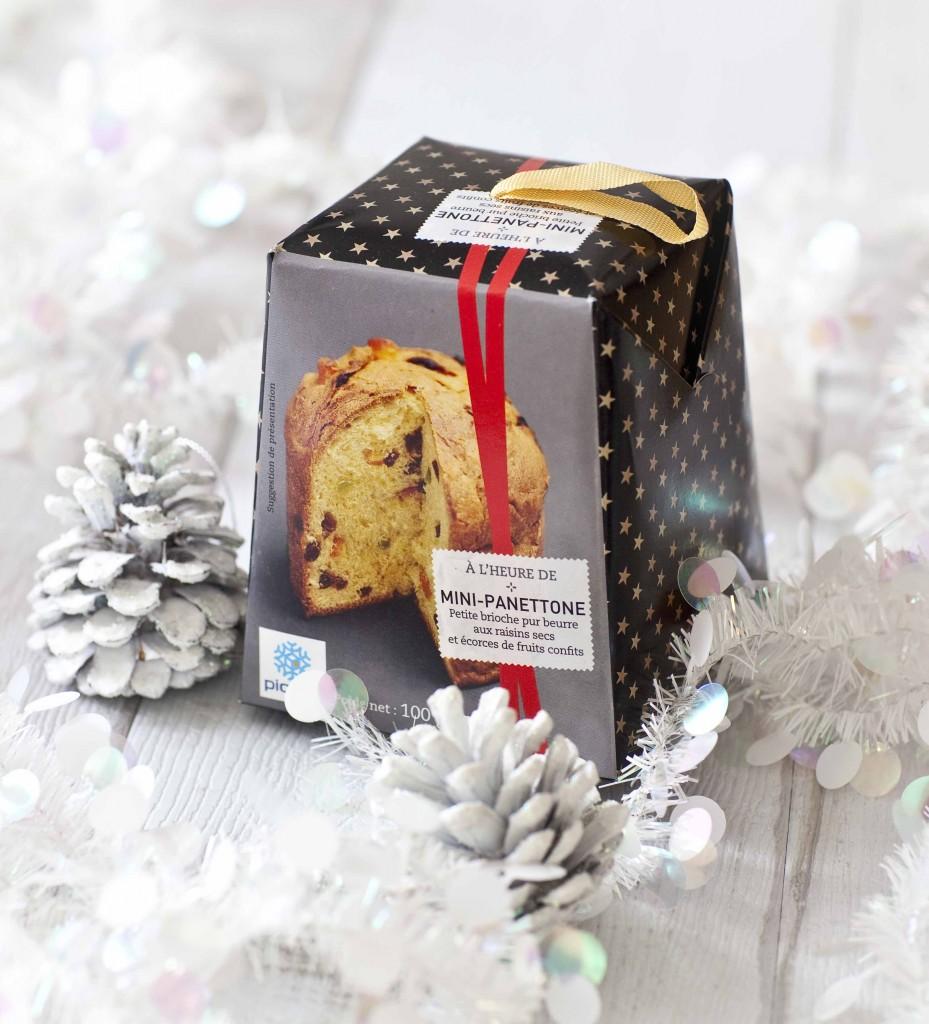 Noël argenté ou presque Mini-panettone Picard Surgelés 11