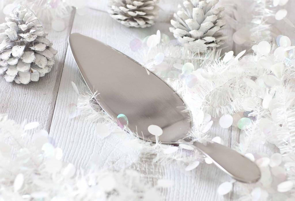 Noël argenté ou presque pelle à tarte Alessi 11