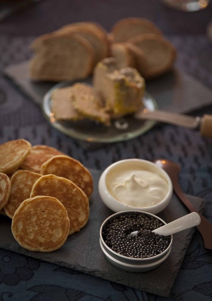 Repas de Noël 2014 Caviar 1