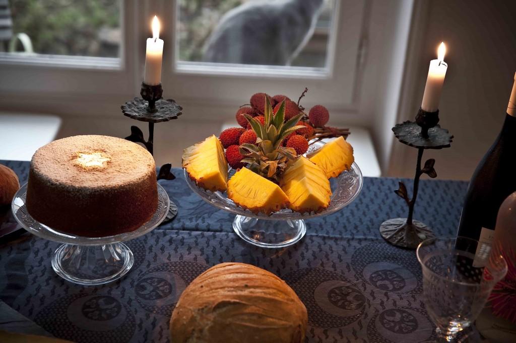 Repas de Noël 2014 Le coin des desserts 1
