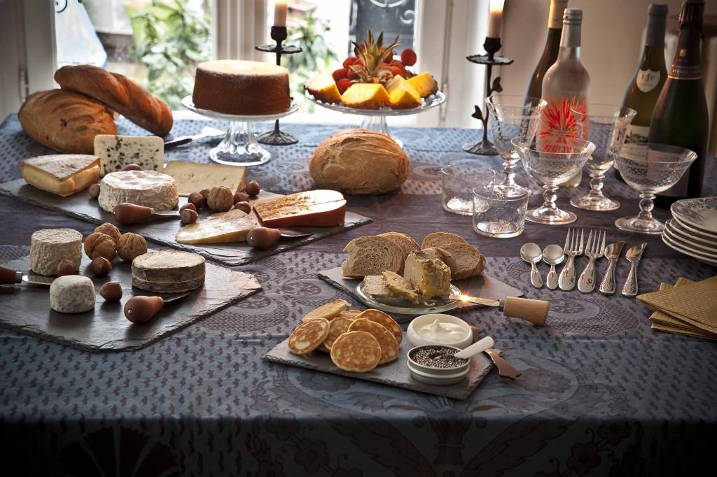 Repas de Noël 2014 table 1