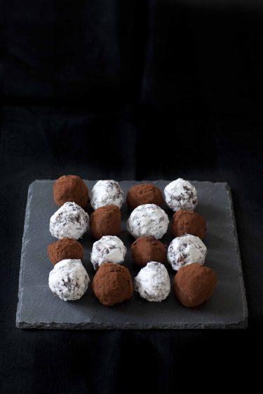 Recettes de truffes et crottes en chocolat