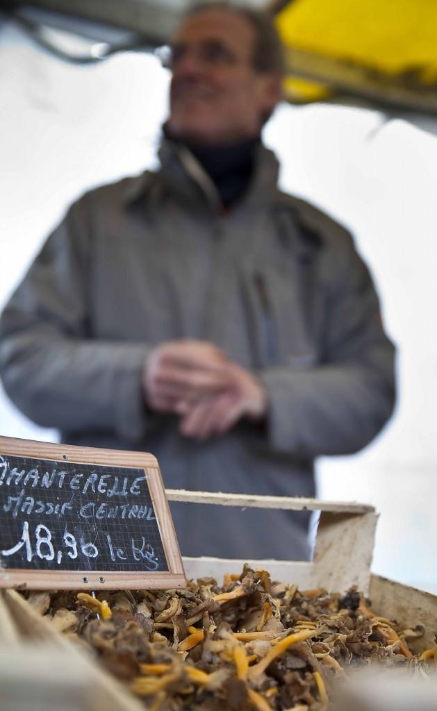 Dolce Chantilly Marché du Chef vendeur de champignons 12
