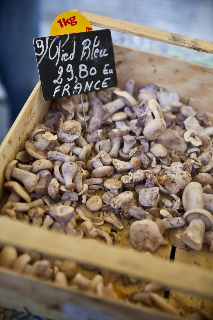 Dolce Chantilly Marché du Chef vendeur de champignons 21