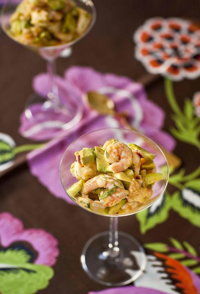 Salade cocktail pamplemousse crevettes, sauce cocktail recette